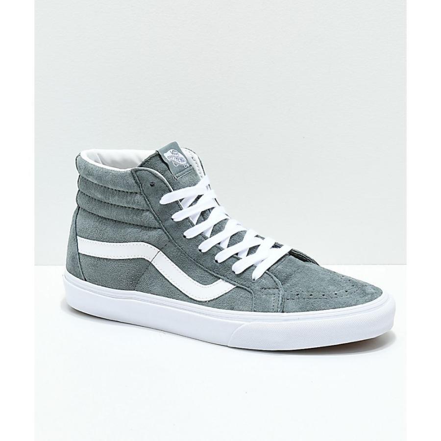 ヴァンズ VANS レディース シューズ・靴 スケートボード Vans Sk8-Hi Stormy Grey Skate Shoes Grey