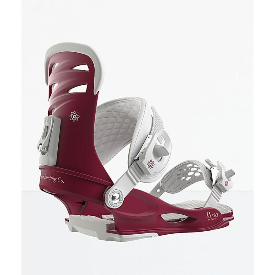 ユニオンビンディング UNION BINDINGS レディース ビンディング スキー・スノーボード Union Rosa Burgundy Snowboard Bindings 2019 Dark 赤