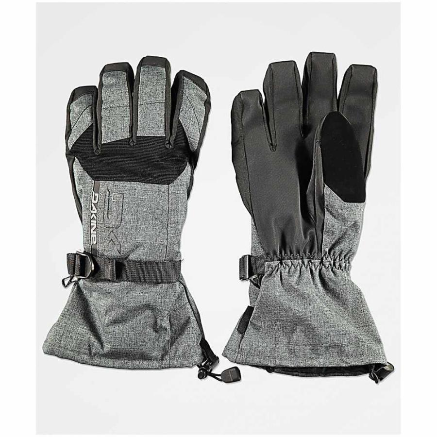 ダカイン DAKINE メンズ グローブ スキー・スノーボード Dakine Scout Carbon Snowboard Gloves Charcoal