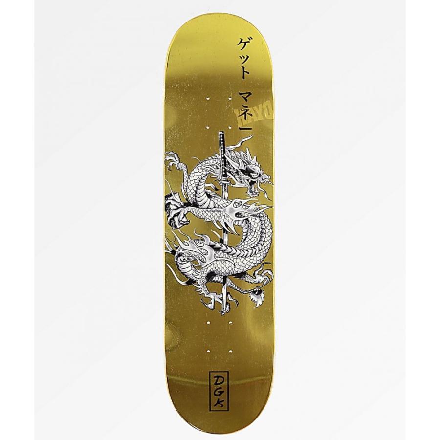 ディジーケー DGK ユニセックス ボード・板 スケートボード Get Money 8.25
