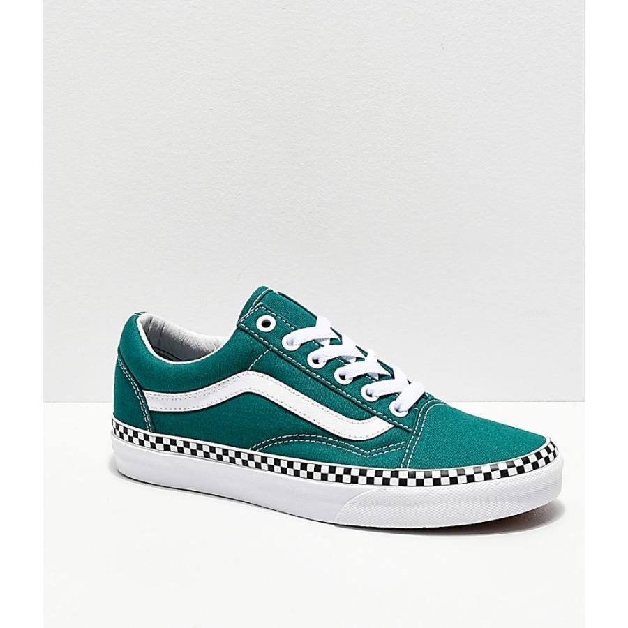 vans aqua green