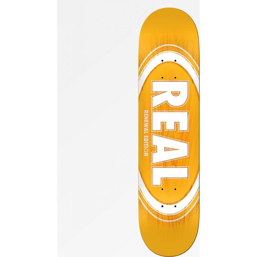 リアルスケートボード REAL SKATEBOARDS ユニセックス ボード・板 スケートボード Real Oval Fade Burst 8.06