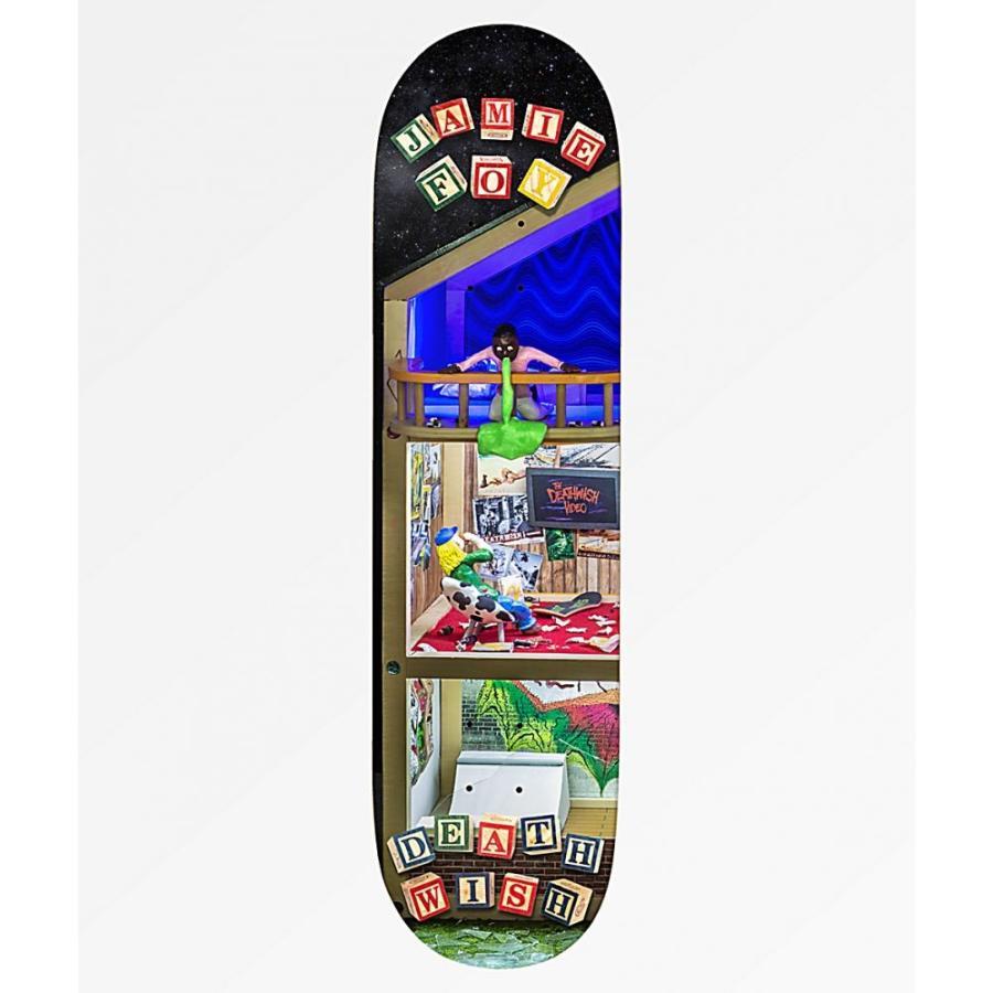デスウィッシュ DEATHWISH ユニセックス ボード・板 スケートボード Deathwish Foy House 8.5