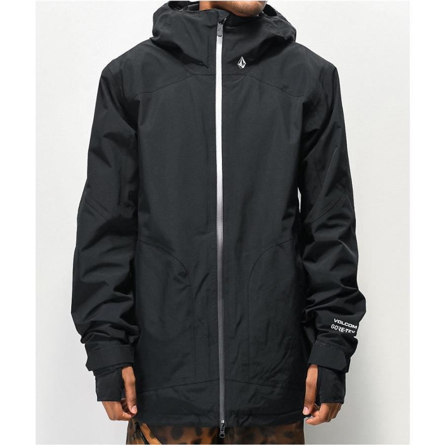 ー品販売  ボルコム VOLCOM メンズ スキー・スノーボード ジャケット アウター Volcom Resin Black Gore-Tex Snowboard Jacket Black, 中之島町 57f3b396