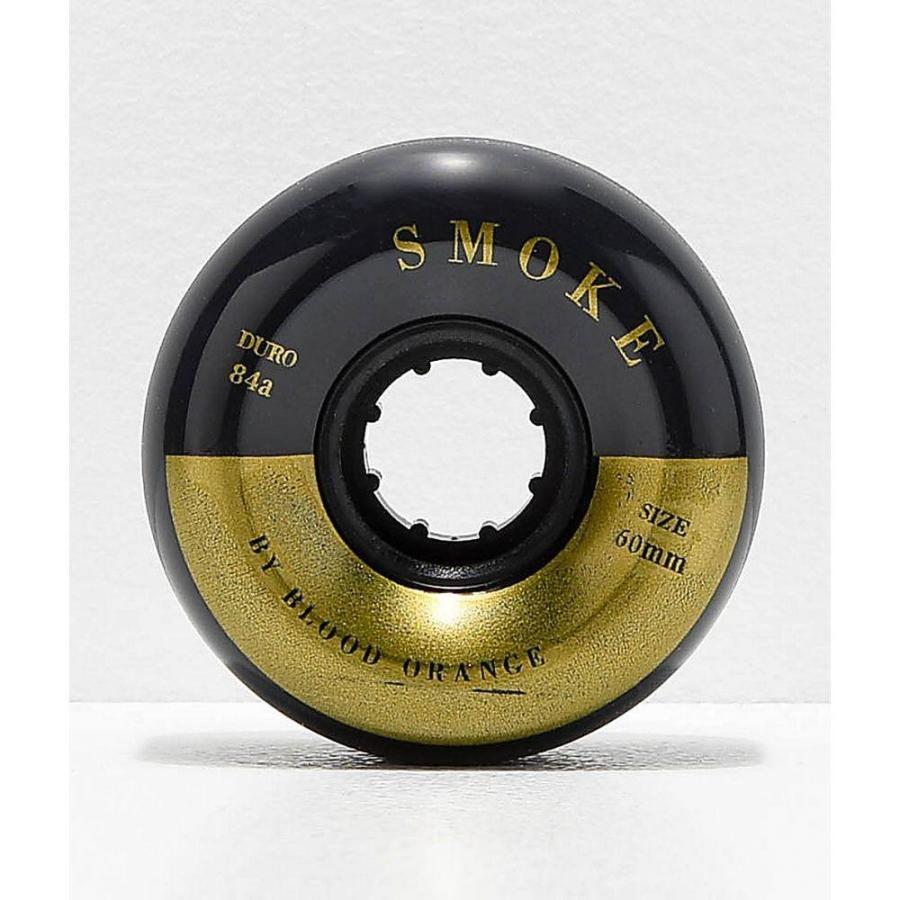 ブラッド オレンジ BLOOD ORANGE ユニセックス スケートボード ウィール ロングボード 60mm 84a smoke black longboard wheels Assorted