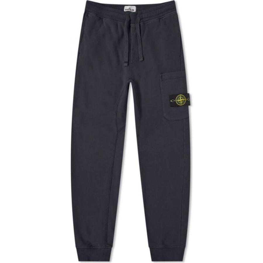 Stone Island Junior Navy Fleece Sweat Pant