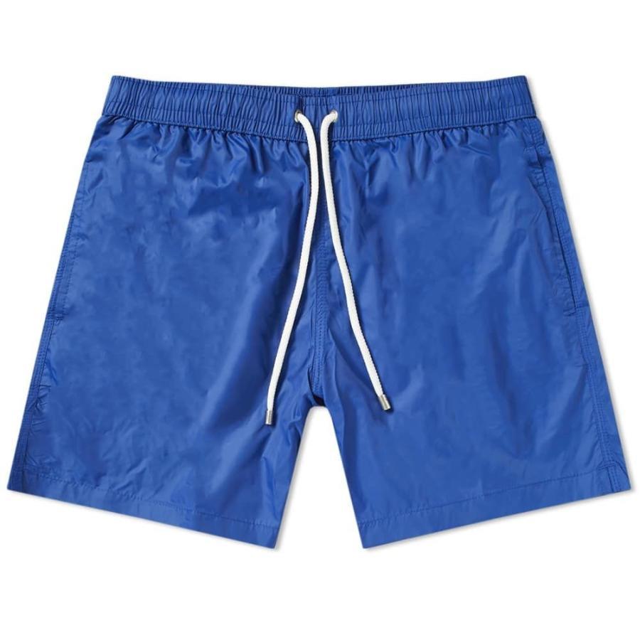 ハートフォード Hartford メンズ 海パン 水着・ビーチウェア quick dry swim short Indigo