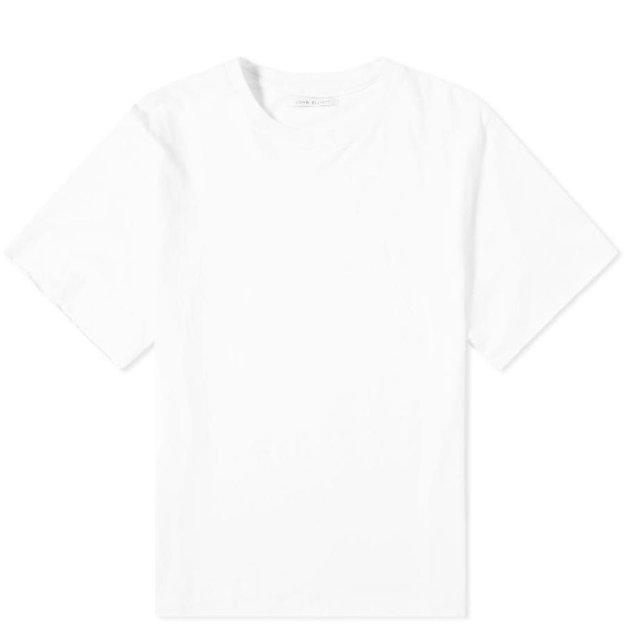 独特の上品 ジョン Tシャツ エリオット John Elliott メンズ Elliott Tシャツ トップス anti-expo エリオット tee White, メガネのヒラタ:7c5a4d4c --- sonpurmela.online