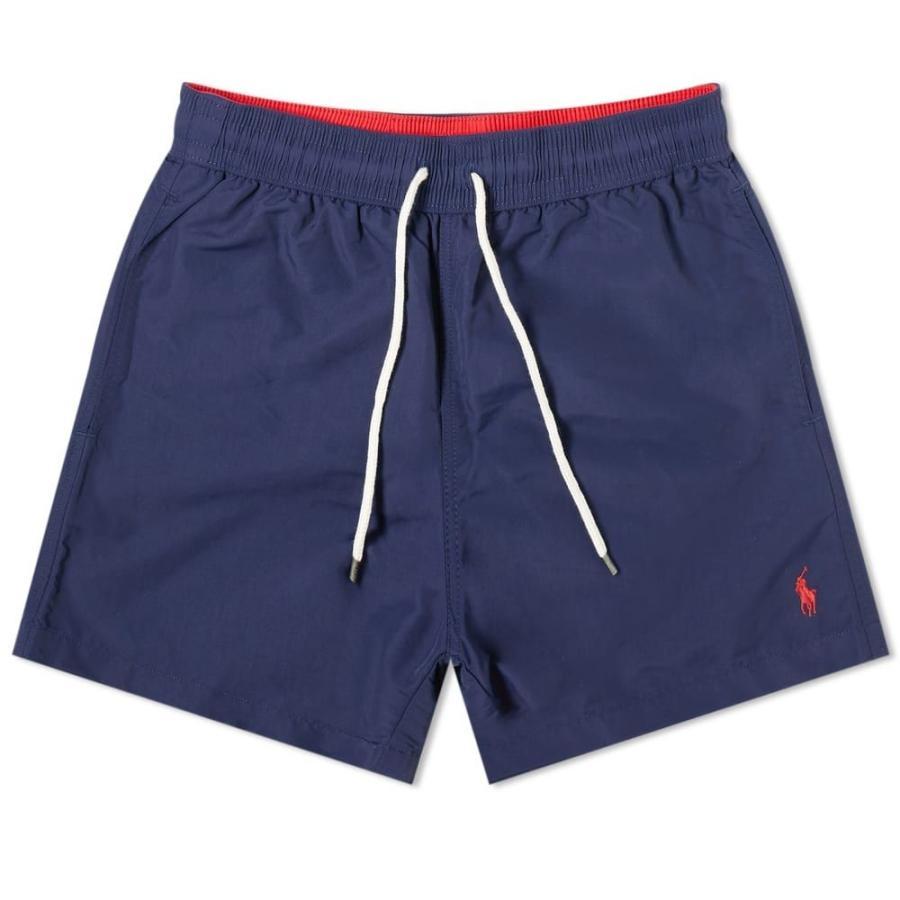 ラルフ ローレン Polo Ralph Lauren メンズ 海パン 水着・ビーチウェア classic traveller swim short Navy