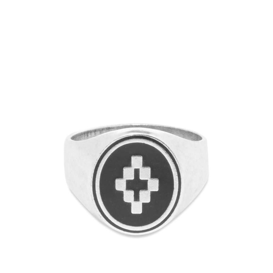 【期間限定送料無料】 マルセロバーロン Marcelo Burlon メンズ Ring 指輪・リング Marcelo ジュエリー 指輪・リング・アクセサリー Cross Ring Silver, 総合通販PREMOA:9d92627b --- airmodconsu.dominiotemporario.com