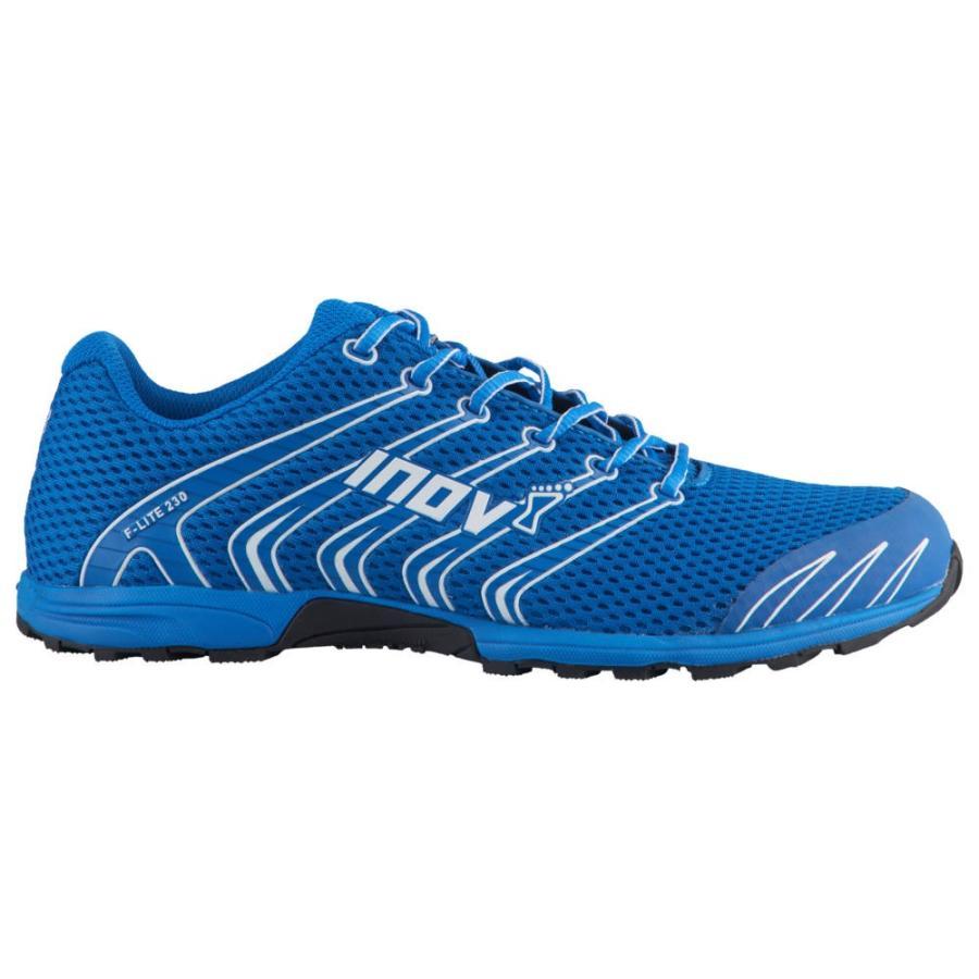 イノヴェイト Inov-8 メンズ フィットネス・トレーニング シューズ・靴 f-lite 230 青/白い