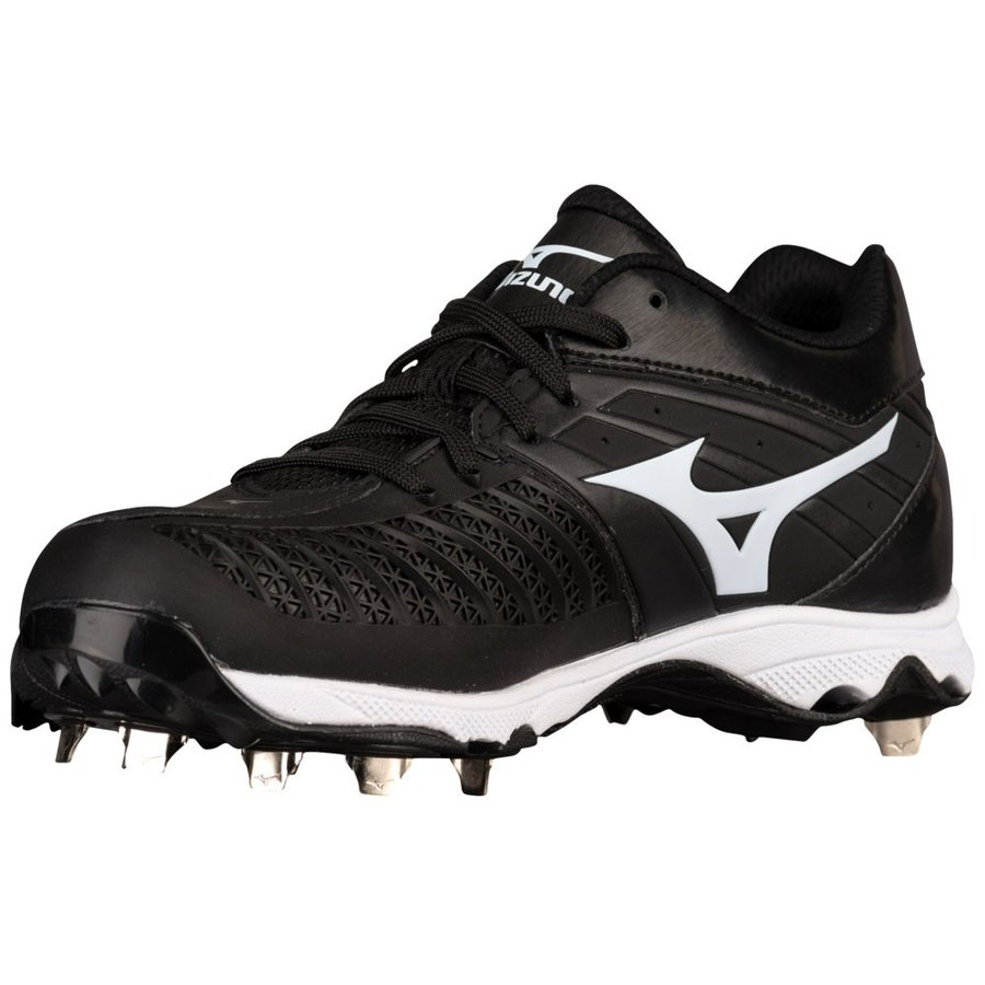 ミズノ Mizuno レディース 野球 シューズ・靴 9-spike advanced sweep 3 黒/白い