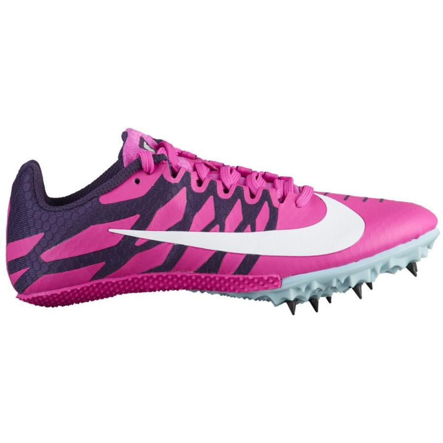 ナイキ Nike レディース 陸上 シューズ・靴 zoom rival s 9 Fuchsia Blast/白い/Grand 紫の