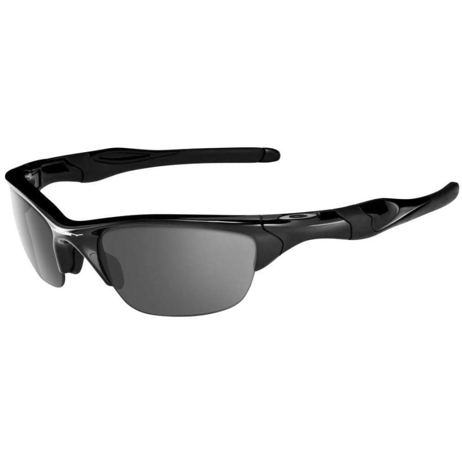 オークリー Oakley メンズ スポーツサングラス Half 2.0 Sunglasses 黒 Iridium Lens