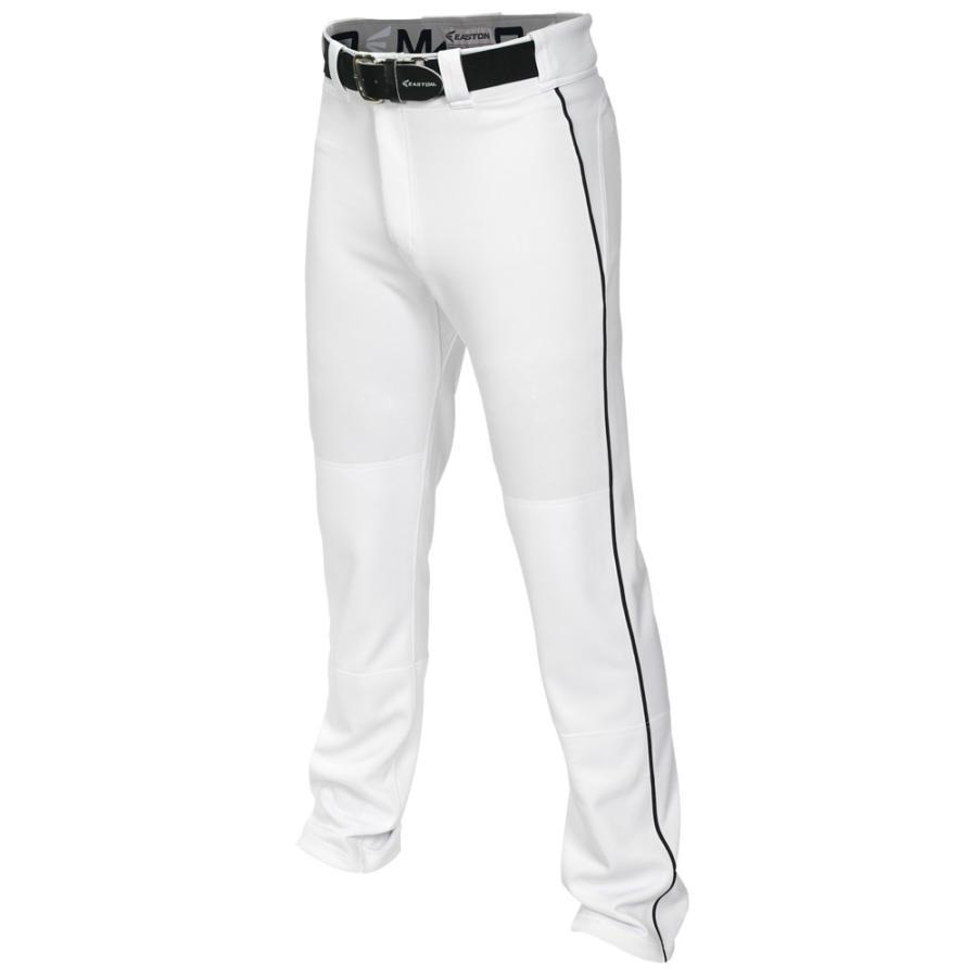 イーストン Easton メンズ 野球 ボトムス・パンツ Mako 2 Piped Baseball Pants 白い/黒