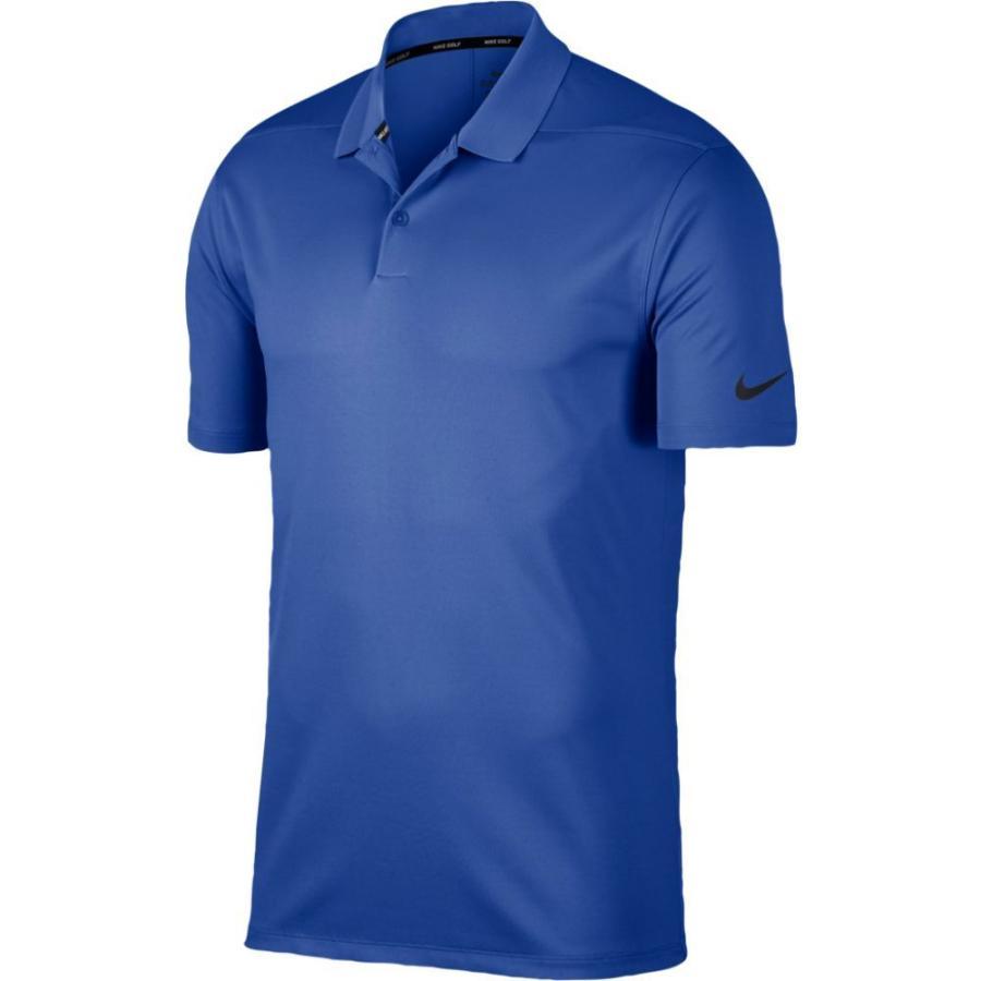 ナイキ Nike メンズ ゴルフ ドライフィット ポロシャツ トップス Dri-Fit Victory Solid Golf Polo Game Royal/黒