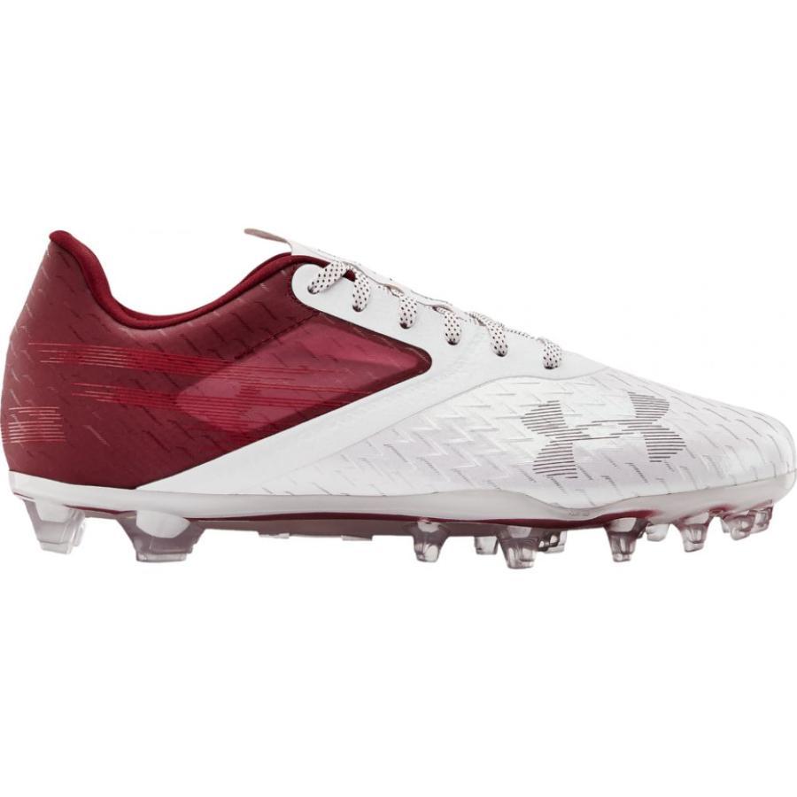 【日本未発売】 アンダーアーマー Armour Under MC Armour メンズ アメリカンフットボール シューズ シューズ・靴・靴 BLUR LUX MC Cardinal/White/Cardinal, 革工房 ファクトリーファイン:aee98eef --- airmodconsu.dominiotemporario.com