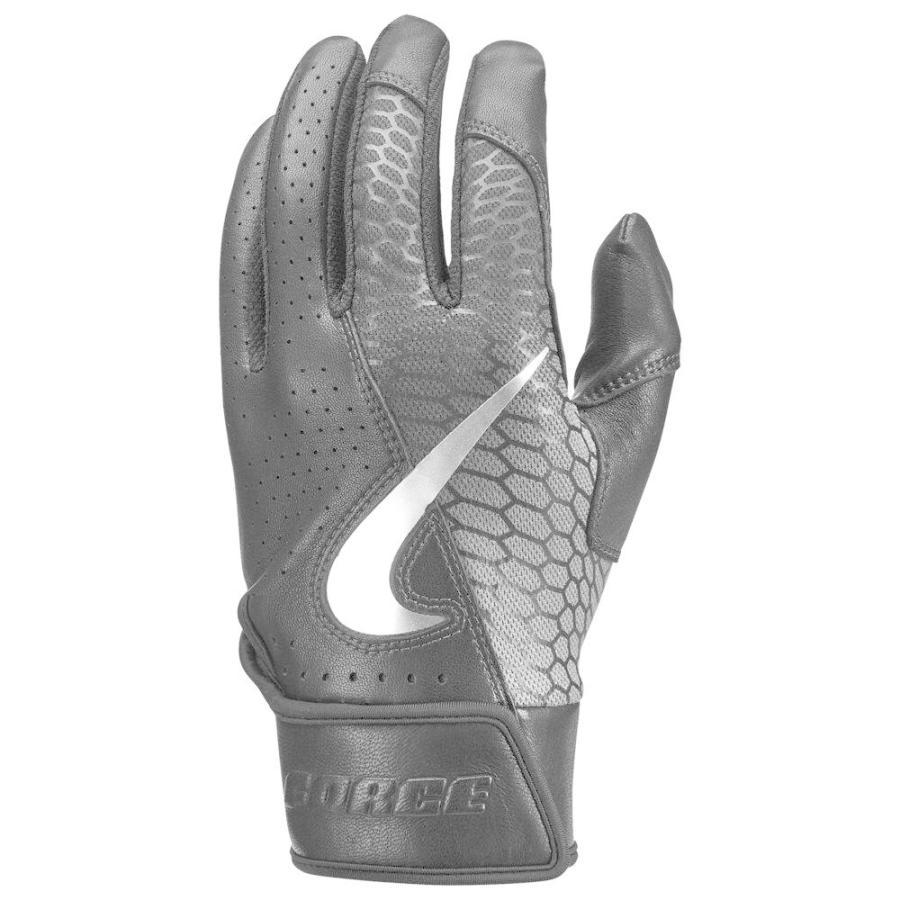 ナイキ Nike メンズ 野球 バッティンググローブ グローブ force elite batting glove 黒/黒/白い