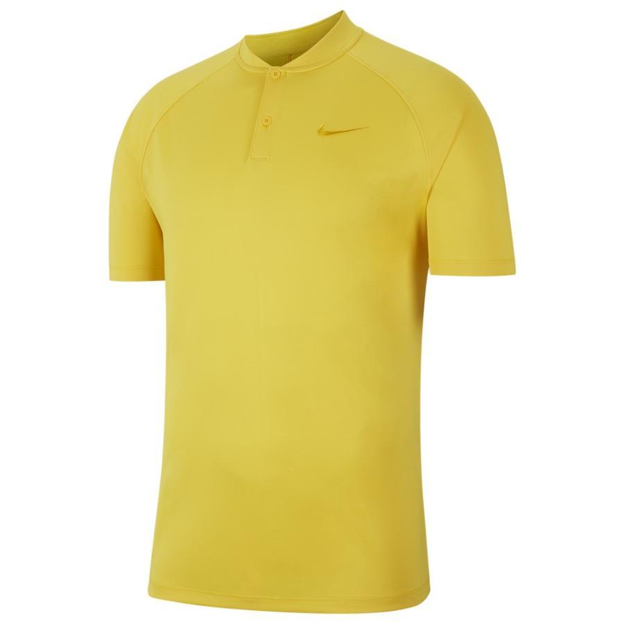ナイキ Nike メンズ ゴルフ ポロシャツ トップス Dry Momentum Blade Golf Polo Chrome 黄/Chrome 黄