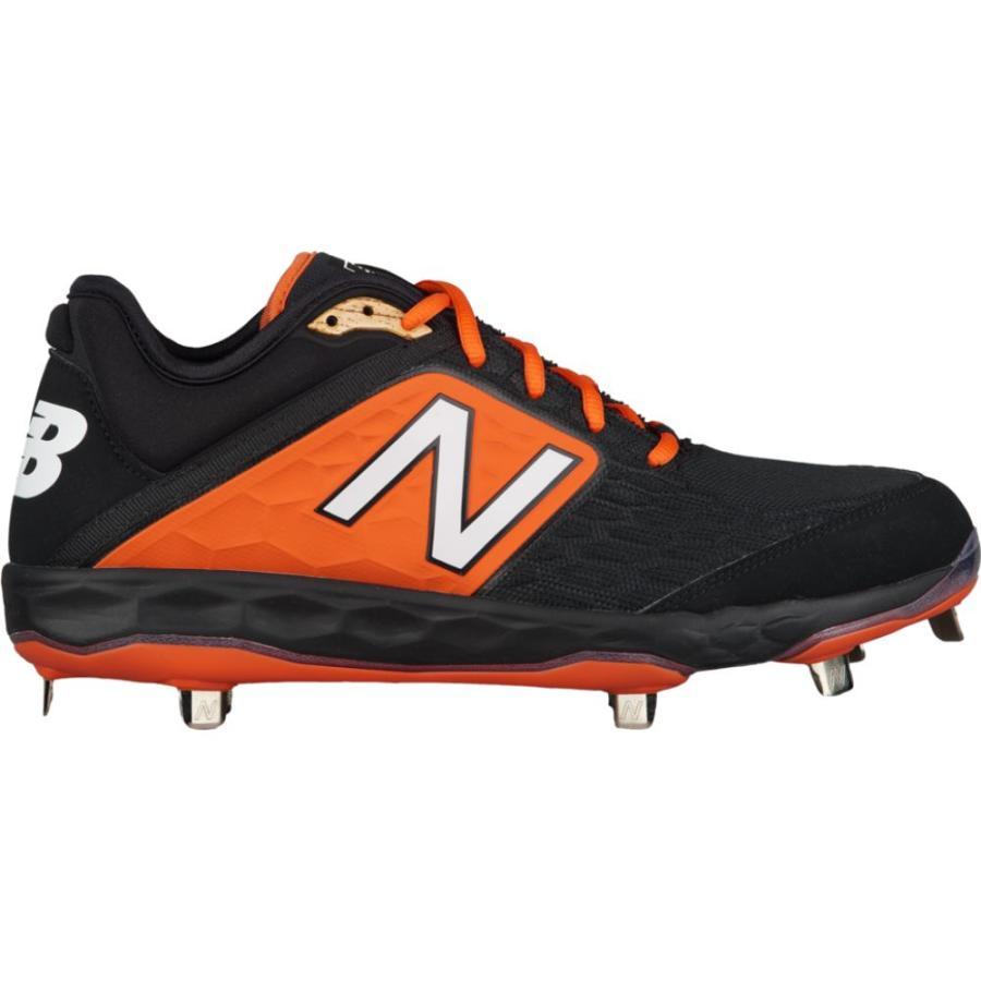 ニューバランス New Balance メンズ 野球 シューズ・靴 3000v4 metal low 黒/オレンジ
