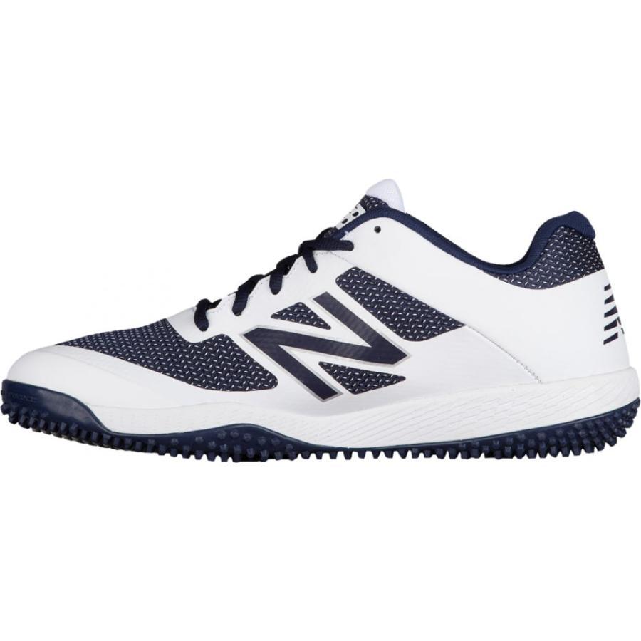 ニューバランス New Balance メンズ 野球 シューズ・靴 4040v4 turf Navy/白い