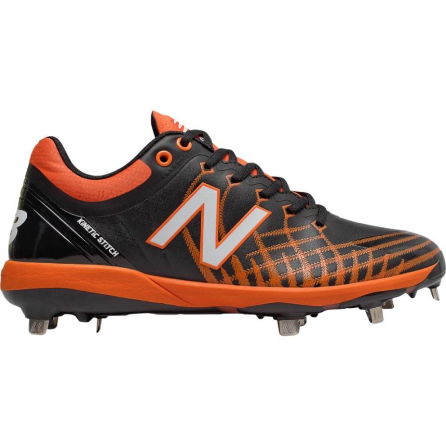 ニューバランス New Balance メンズ 野球 シューズ・靴 4040v5 Metal Low 黒/オレンジ
