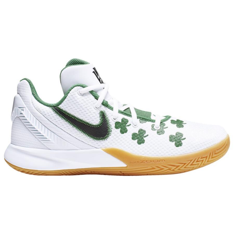 ナイキ Nike メンズ バスケットボール シューズ・靴 kyrie flytrap 2 Kyrie Irving 白い/黒/Aloe Verde/Gum Light 褐色