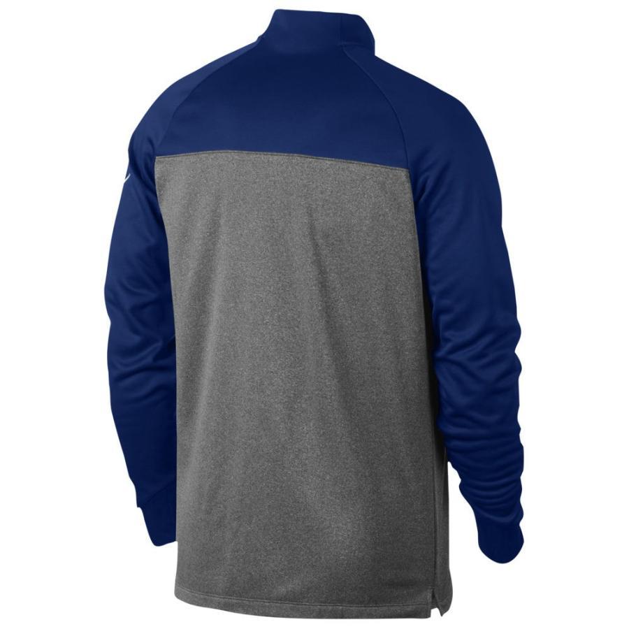 ナイキ Nike メンズ ゴルフ ハーフジップ トップス therma fit 1/2 zip cover up College Navy/Dark グレー/Heather/白い