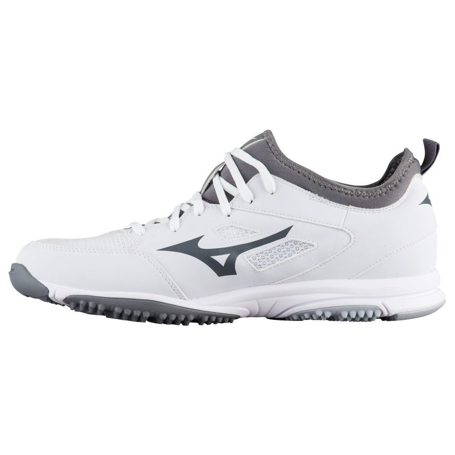 ミズノ Mizuno メンズ 野球 スニーカー シューズ・靴 players trainer 2 白い/白い/グレー