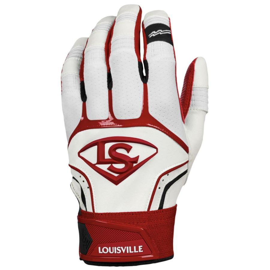 ルイスビルスラッガー Louisville Slugger メンズ 野球 バッティンググローブ グローブ Prime Batting Gloves Scarlet