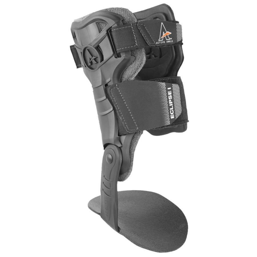 アクティブアンクル Active Ankle ユニセックス フィットネス・トレーニング アンクルブレイス サポーター Eclipse I Ankle Brace 黒