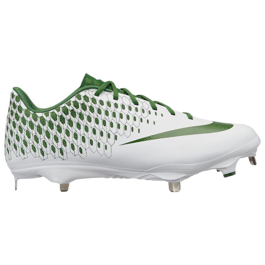ナイキ Nike メンズ 野球 シューズ・靴 lunar vapor ultrafly elite 2 白い/Forest 緑