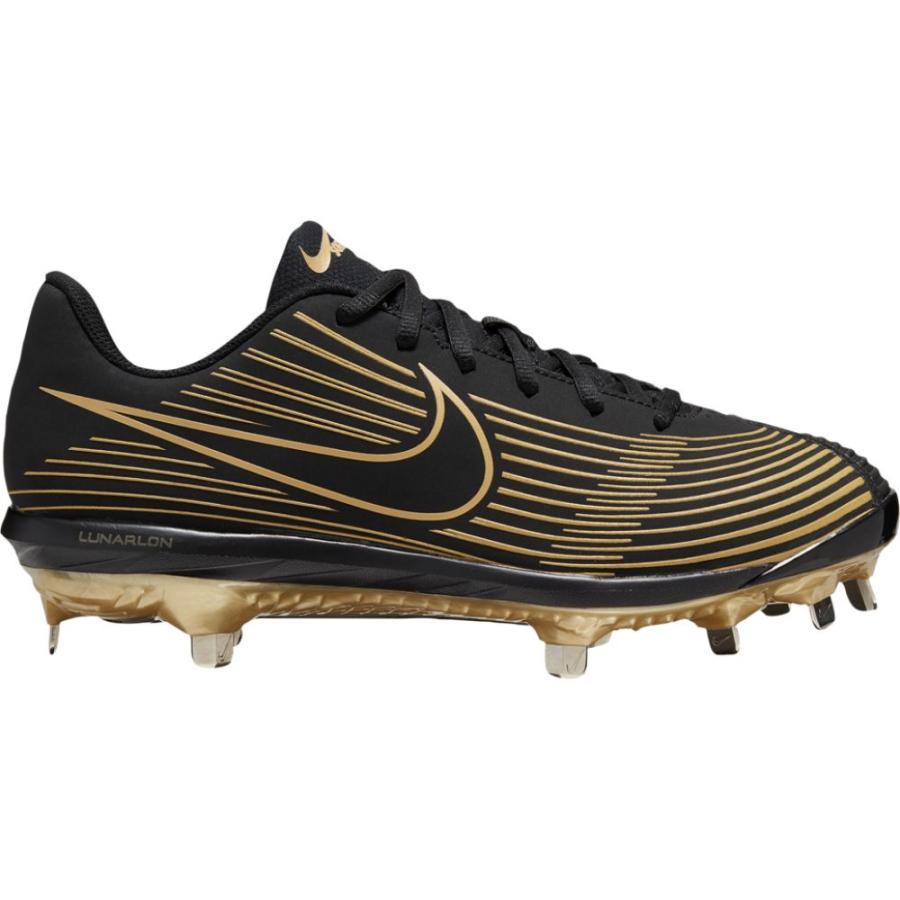 【超ポイント祭?期間限定】 ナイキ Nike レディース 野球 シューズ・靴 Lunar Hyperdiamond 3 Varsity Black/Black/Metallic Gold, e-ふとん屋さん 8e26e6e3