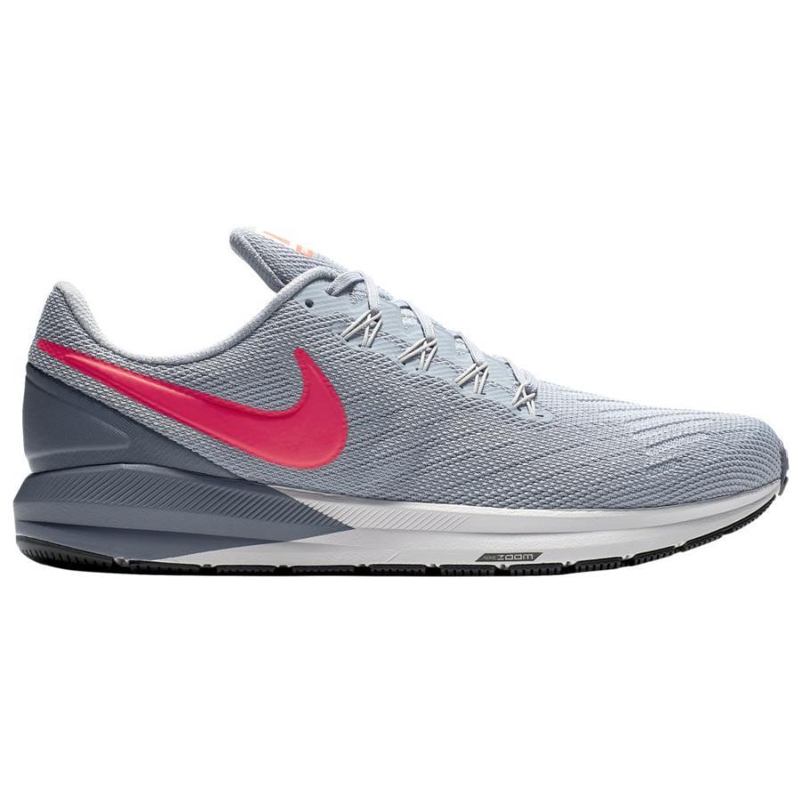 ナイキ Nike メンズ ランニング・ウォーキング エアズーム シューズ・靴 Air Zoom Structure 22 Obsidian Mist/Bright Crimson/青/Vast グレー/黒