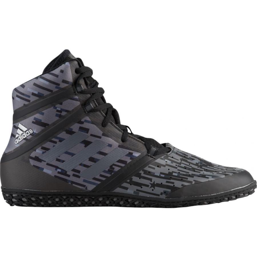 アディダス adidas メンズ レスリング シューズ・靴 flying impact 黒/グレー Digital Print