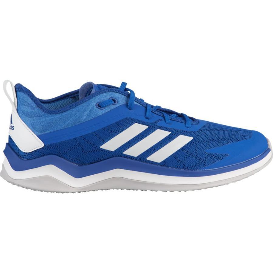 アディダス adidas メンズ 野球 スニーカー シューズ・靴 speed trainer 4 Collegiate Royal/白い