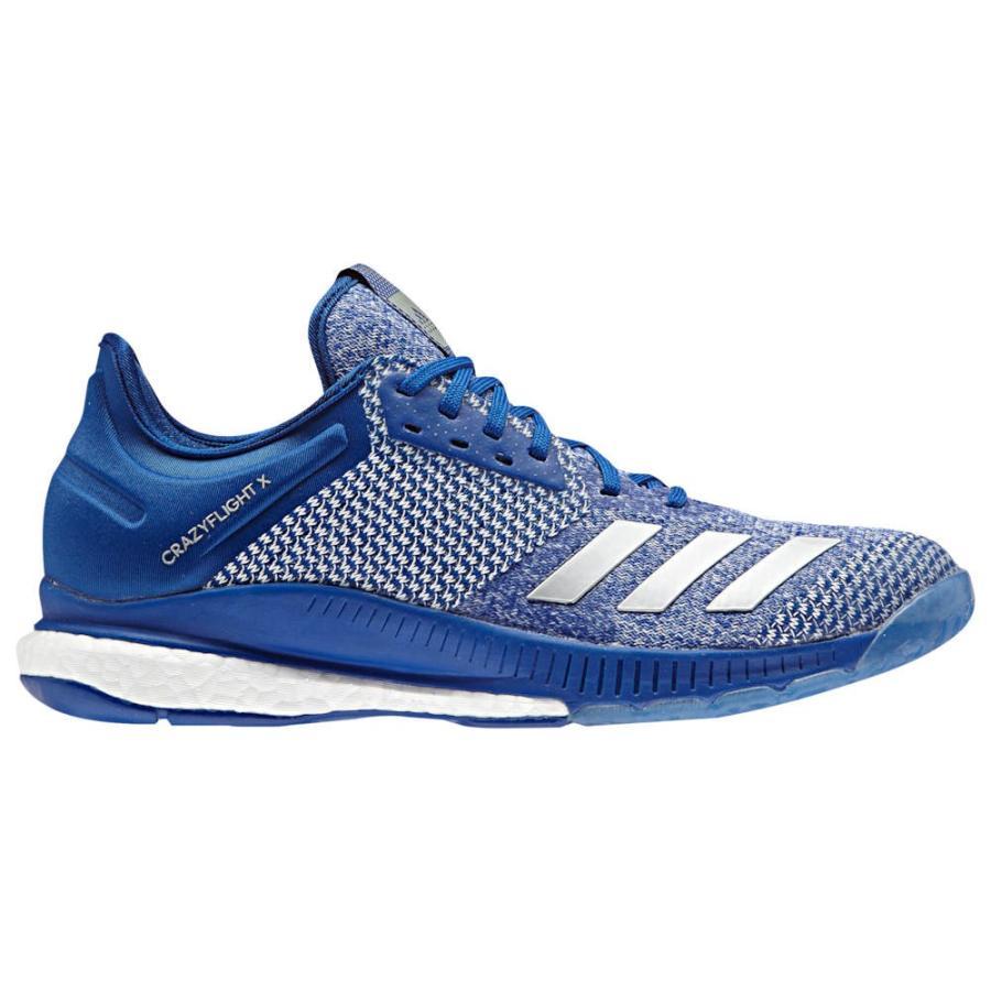 アディダス adidas レディース バレーボール シューズ・靴 crazyflight x 2 College Royal/銀 Metallic/白い
