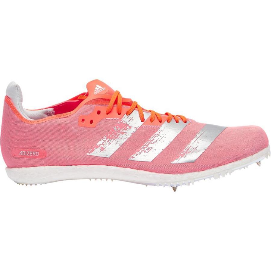 アディダス adidas メンズ 陸上 シューズ・靴 adiZero Avanti Signal Coral/Silver Metallic/Footwear White|fermart