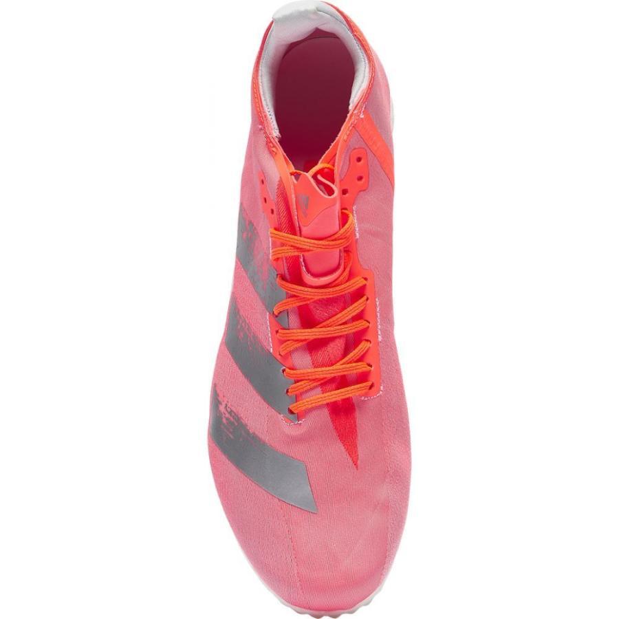 アディダス adidas メンズ 陸上 シューズ・靴 adiZero Avanti Signal Coral/Silver Metallic/Footwear White|fermart|04