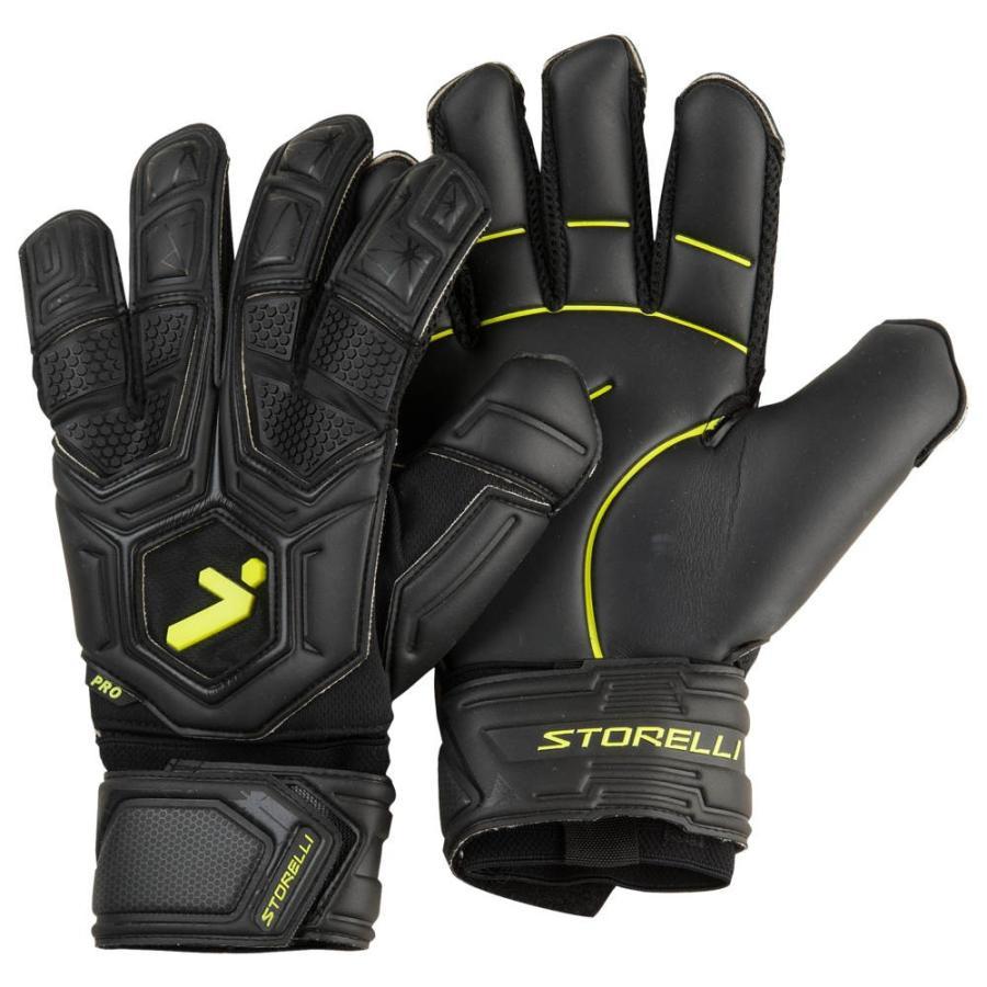 ストレリ Storelli Sports メンズ サッカー キーパーグローブ グローブ Exoshield Gladiator Pro 2.0 GK Gloves 黒