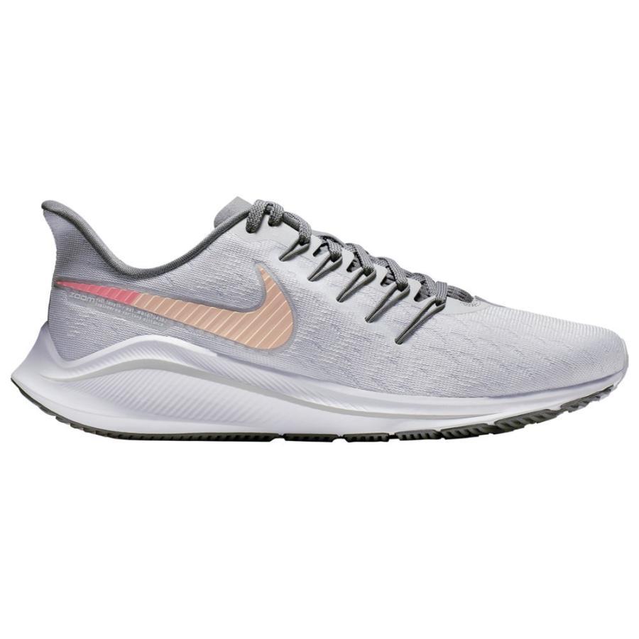 ナイキ Nike レディース ランニング・ウォーキング エアズーム シューズ・靴 air zoom vomero 14 Pure Platinum/Crimson Tint/Cool グレー/Lava Glow