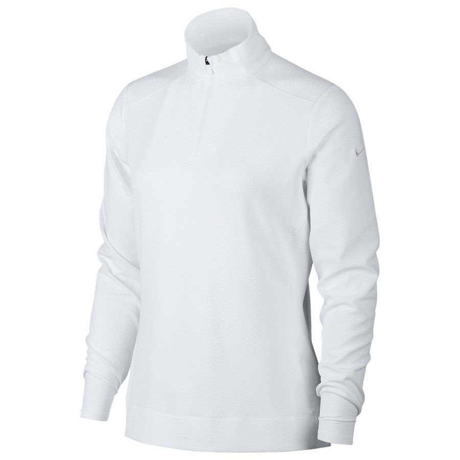 【正規取扱店】 ナイキ Nike レディース ゴルフ ドライフィット トップス Dri-FIT UV 1/4 Zip Golf Top White/White, オプショナル豊和 154455b0