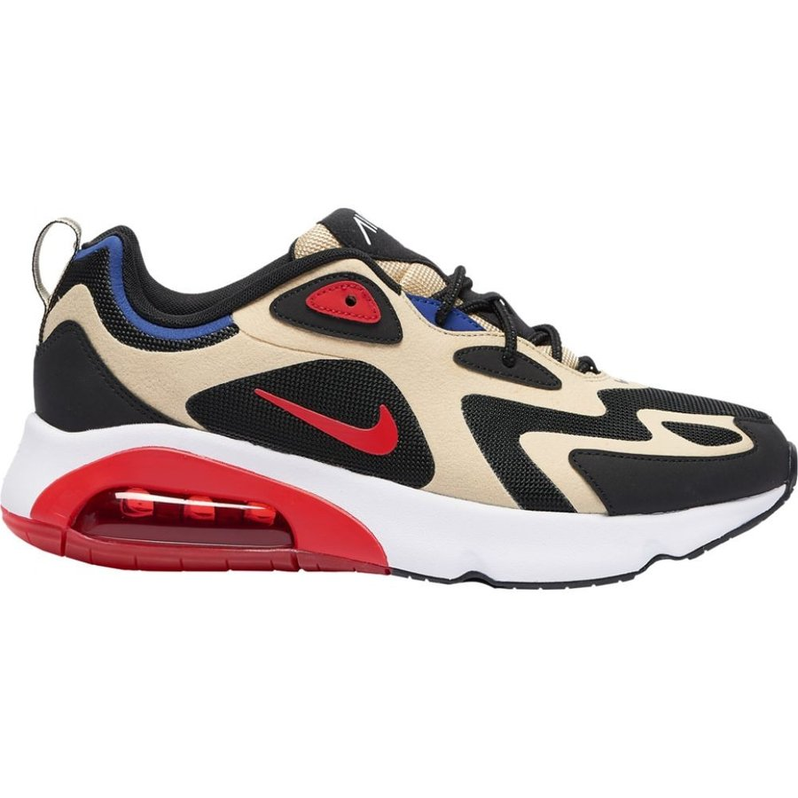ナイキ Nike メンズ ランニング・ウォーキング シューズ・靴 Air Max 200 Team ゴールド/University 赤/黒/白い