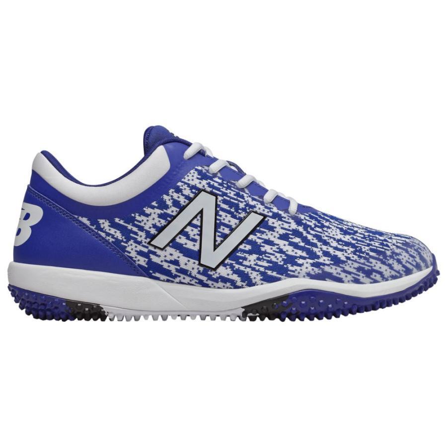 ニューバランス New Balance メンズ 野球 シューズ・靴 4040v5 Turf Royal/白い