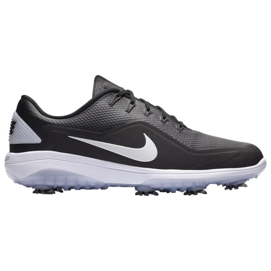 ナイキ Nike メンズ ゴルフ シューズ・靴 react vapor 2 golf shoes 黒/Metallic 白い/白い