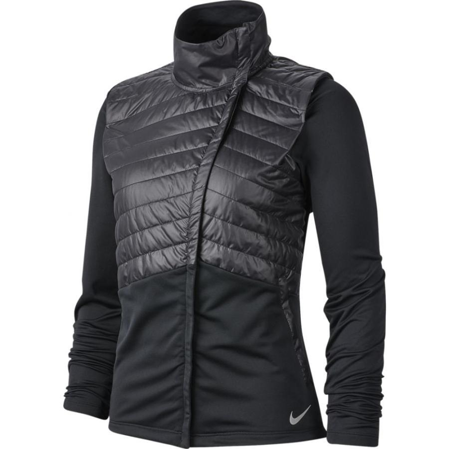 いいスタイル ナイキ Nike Black アウター レディース Reflective フィットネス・トレーニング ジャケット アウター Essential Filled Jacket Black Reflective Silver, 岐阜県池田町:c2344e13 --- airmodconsu.dominiotemporario.com