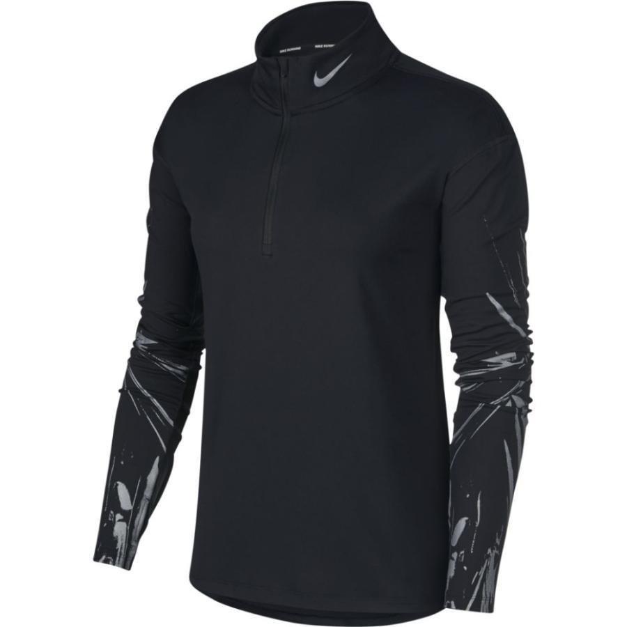 高級品市場 ナイキ Nike レディース フィットネス・トレーニング トップス Element Flash Half-Zip GX Top Black Reflective Black, 健康一番館 dee13519