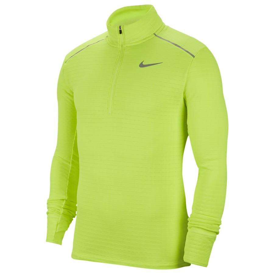 豪奢な ナイキ Nike メンズ ランニング・ウォーキング ハーフジップ トップス Sphere Element 1/2 Zip Top 3.0 Volt/Reflective Silver, 池田屋質店 214d1b23
