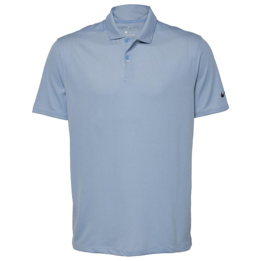 ナイキ Nike メンズ ゴルフ ポロシャツ トップス dry victory texture golf polo Indigo Fog/Pure/黒