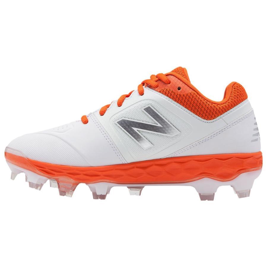 ニューバランス New Balance レディース 野球 シューズ・靴 spvelov1 tpu low オレンジ/白い
